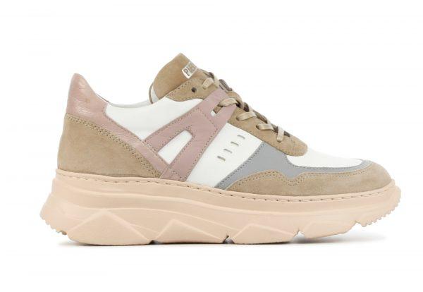 Piedi Nudi Sneakers Dames (Wit)