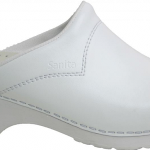 Sanita 550 werkklompen (Kleur: wit, Schoenmaat: 41)