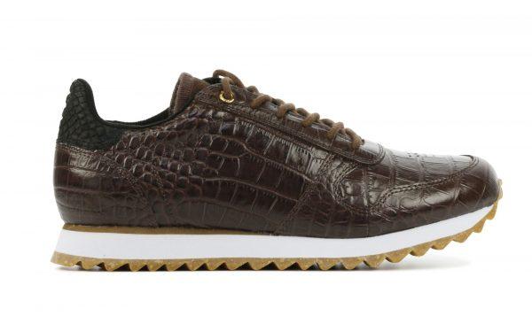Woden Sneakers Dames (Bruin)