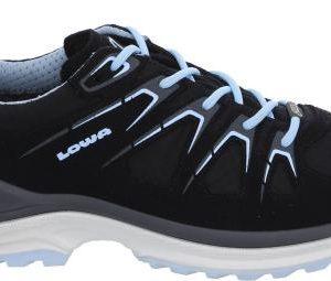 Lowa Innox GTX LO wandelschoenen dames zwart/blauw