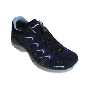 Lowa Maddox GTX Lo wandelschoenen dames donker blauw