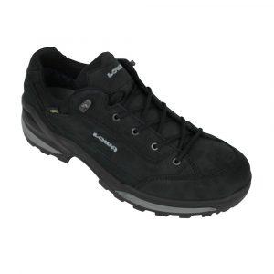Lowa Renegade GTX LO Wide wandelschoenen heren zwart