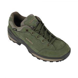 Lowa Renegade GTX LO wandelschoenen dames olijf groen