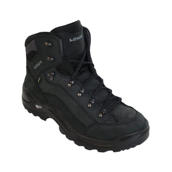 Lowa Renegade GTX Mid wandelschoenen heren antraciet/zwart