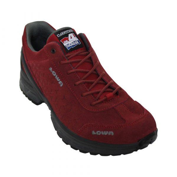 Lowa Walker Nijmegen wandelschoenen dames rood