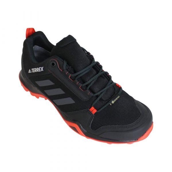 adidas Terrex AX3 GTX wandelschoenen heren zwart/oranje