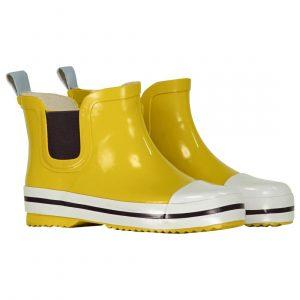 HEMA Kinder Regenlaarzen - Laag Model - Rubber Geel (geel)