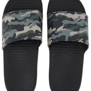HEMA Slippers Maat 40-41 Camouflage Groen