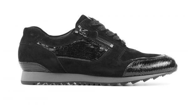 Hassia Sneakers Dames (Zwart)