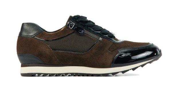 Hassia Sneakers Dames (Bruin)