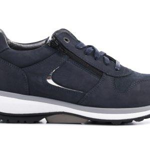 Xsensible Stretchwalker Dames Leren SneakersSneakers